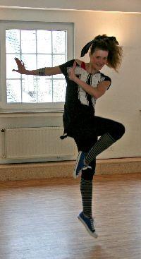 Pam Balz tanzt